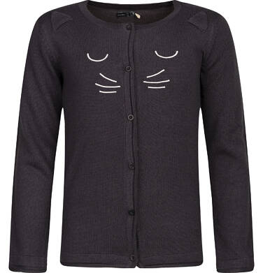 Sweter rozpinany dla dziewczynki 3-8 lat D82B016_1