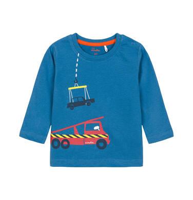 T-shirt z długim rękawem dla dziecka 0-3 lata N92G048_1