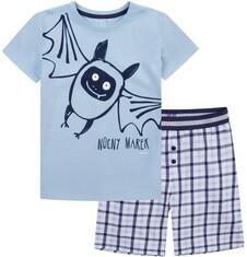 Piżama z krótkimi spodenkami dla chłopca 9-13 lat C71V501_1