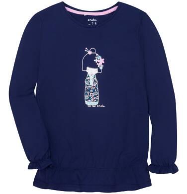 Endo - Bufiasta bluzka dla dziewczynki 3-8 lat D72G046_2