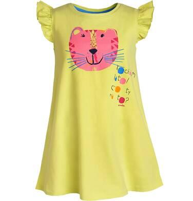Endo - Sukienka z krótkim rękawem dla dziewczynki 3-8 lat D81H008_1