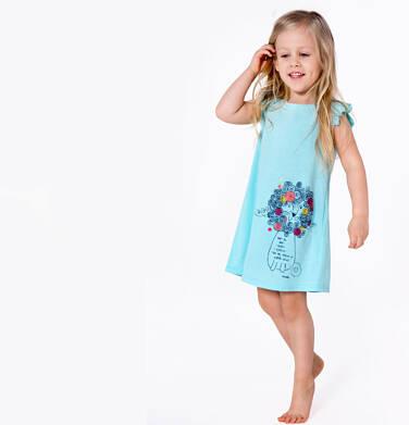 Endo - Sukienka z krótkim rękawem dla dziewczynki 3-8 lat D81H009_1