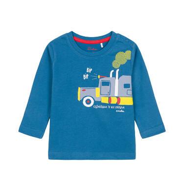 T-shirt z długim rękawem dla dziecka 0-3 lata N92G051_1