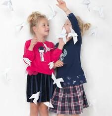 Endo - Tunika dla dziewczynki 3-8 lat D72G056_1