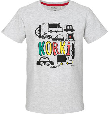 Endo - T-shirt z krótkim rękawem dla chłopca 9-13 lat C91G593_2