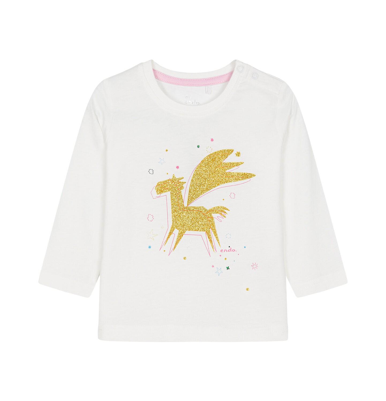 Endo - Bluzka z długim rękawem dla dziecka 0-3 lata N92G080_1