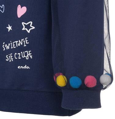 Endo - Bluza dla dziewczynki 3-8 lat D92C013_1