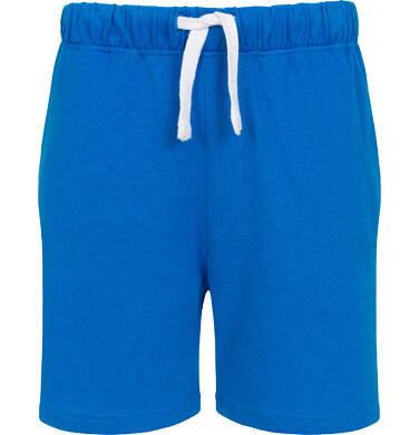 Endo - Krótkie spodenki dla chłopca, z kieszonką z tyłu, niebieskie, 9-13 lat C05K047_2 4