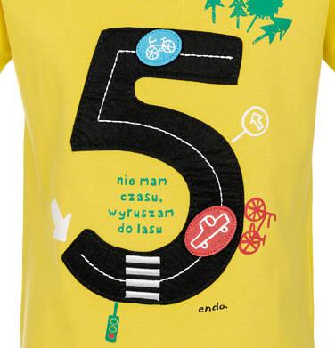 Endo - T-shirt z krótkim rękawem dla chłopca 9-13 lat C91G594_1