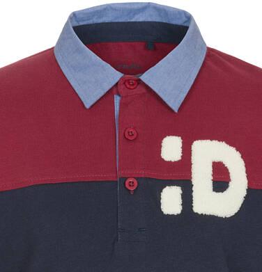 Endo - T-shirt polo z długim rękawem dla chłopca 3-8 lat C92G004_1,2