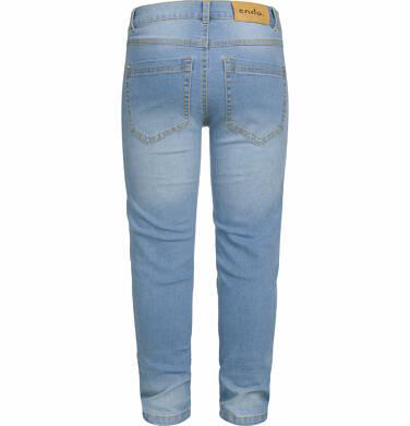 Endo - Spodnie jeansowe dla chłopca, 2-8 lat C03K031_1,3
