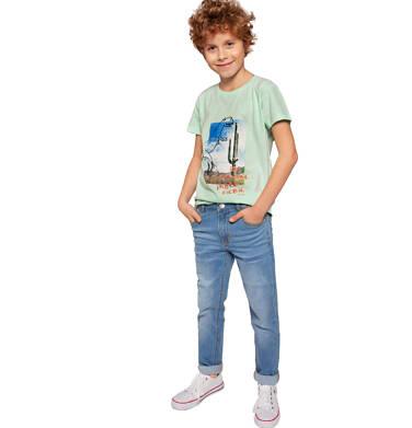 Endo - Spodnie jeansowe dla chłopca, 2-8 lat C03K031_1,2