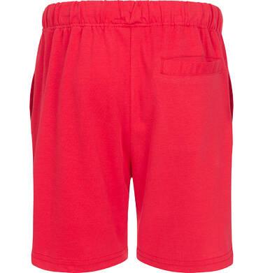 Endo - Krótkie spodenki dla chłopca, z kieszonką z tyłu, czerwone, 9-13 lat C05K047_3 3