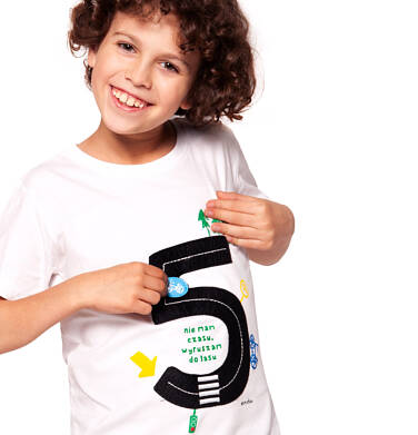 Endo - T-shirt z krótkim rękawem dla chłopca 3-8 lat C91G094_2