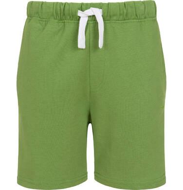 Endo - Krótkie spodenki dla chłopca, z kieszonką z tyłu, zielone, 9-13 lat C05K047_4 2