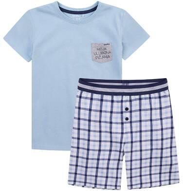 Endo - Piżama z krótkimi spodenkami dla chłopca 9-13 lat C71V504_1