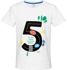 Endo - T-shirt z krótkim rękawem dla chłopca 9-13 lat C91G594_2