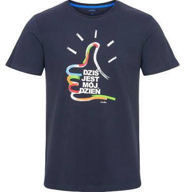 Endo - T-shirt męski z krótkim rękawem Q92G003_1