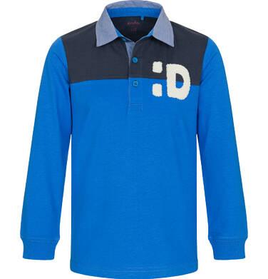 Endo - T-shirt polo z długim rękawem dla chłopca 3-8 lat C92G004_2 10
