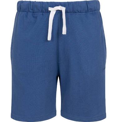 Endo - Krótkie spodenki dla chłopca, z kieszonką z tyłu, ciemnoniebieskie, 9-13 lat C05K047_5 1
