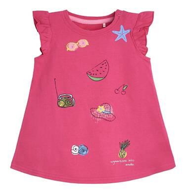 Endo - Sukienka z krótkim rękawem dla dziecka 0-3 lata N81H006_1