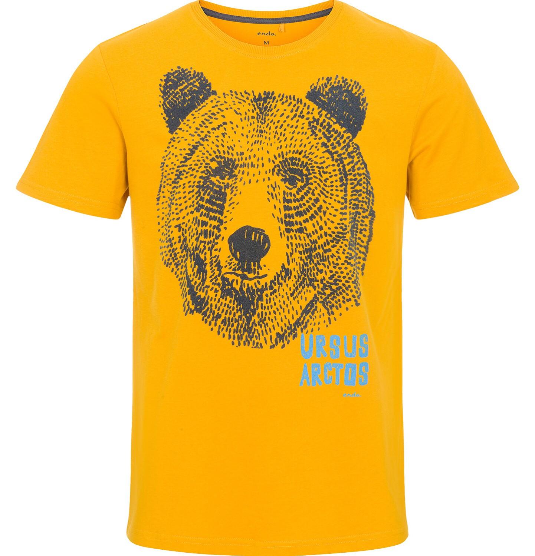 Endo - T-shirt męski z krótkim rękawem Q92G014_1