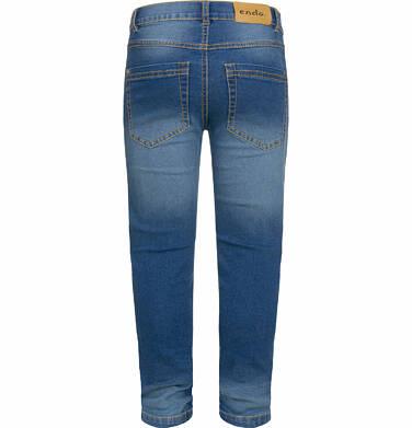 Endo - Spodnie jeansowe dla chłopca, 9-13 lat C03K531_2,3
