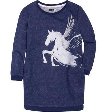 Endo - Sukienka o charakterze bluzy dla dziewczynki 3-8 lat D72H016_1