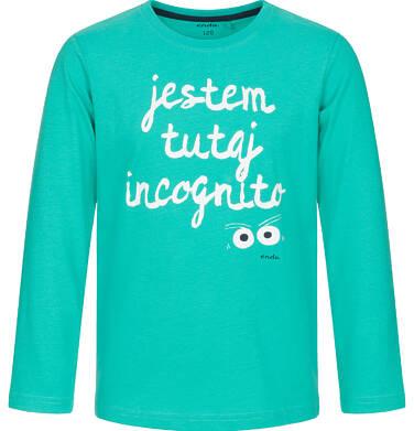 Endo - T-shirt z długim rękawem dla chłopca 9-13 lat C92G536_2