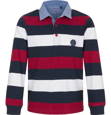 Endo - Koszulka polo z długim rękawem dla chłopca 3-8 lat C92G005_2
