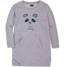 Endo - Ciepła sukienka dla dziewczynki 3-8 lat D72H060_1