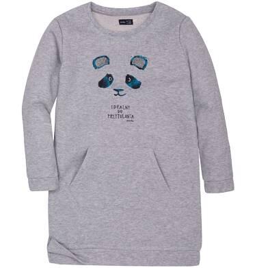 Endo - Sukienka ze srebrną nitką dla dziewczynki 3-8 lat D72H060_1