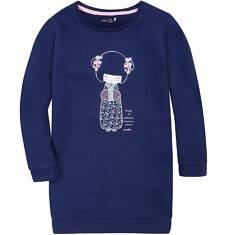 Ciepła sukienka dla dziewczynki 3-8 lat D72H010_1