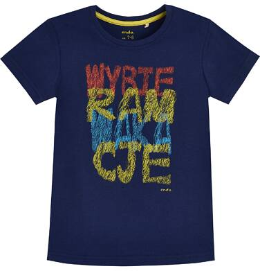 Endo - T-shirt dla chłopca 3-8 lat C81G010_1