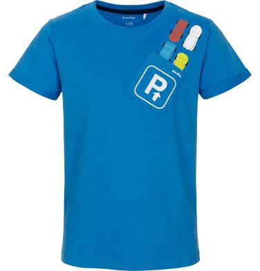 T-shirt z krótkim rękawem dla chłopca 9-13 lat C91G620_1