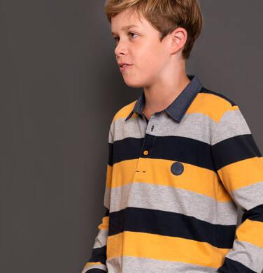 Endo - Koszulka polo z długim rękawem dla chłopca 3-8 lat C92G005_3